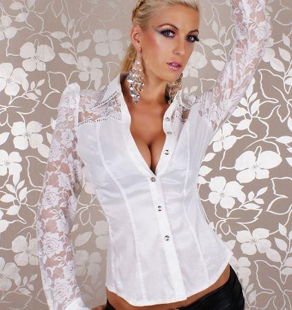5855375f86 Bango Fehér karcsúsított ing 02 - Sport és szabadidő webáruház